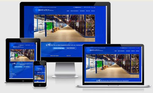 Izdelava spletne strani prilagojene za različne naprave