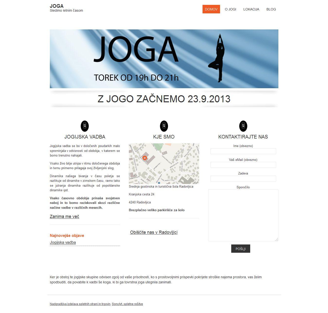 Prvotna spletna stran