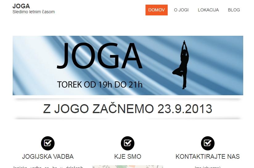 Prvotna spletna stran - pobližje :)
