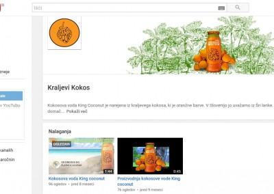 Vzpostavitev youtube kanala