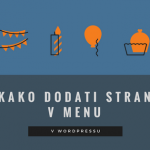 Video: Kako dodati stran v menu v WordPressu?