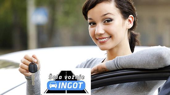 Šola vožnje Ingot